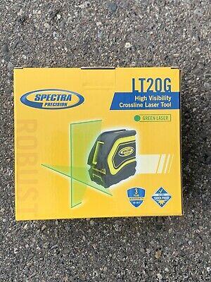 Spectra Lt20g 2-beam Self-leveling Green Beam Cross Line Laser Level Kit