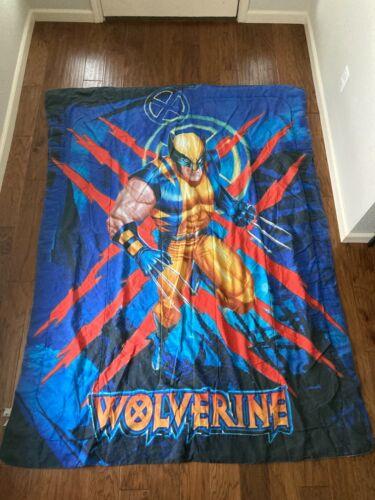 Wolverine Marvel 2009 X-Men Twin Bedding Blanket / Comforter RARE - NO SHEETS