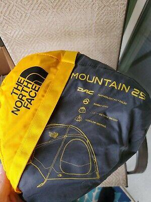 The North Face Mountain 25 Tent Summit Gold Asphalt Grey 2 Person 4 Season