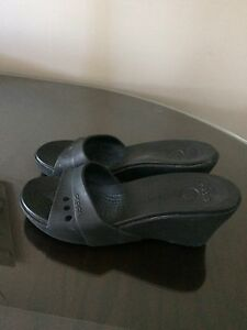 Crocs size 9  worn x3