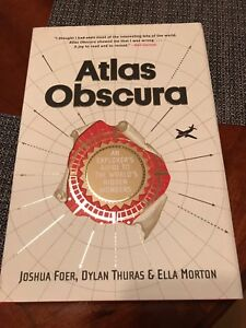 Atlas Obscura book for sale