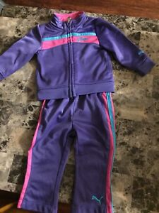 Girls puma outfit size 6-9 months