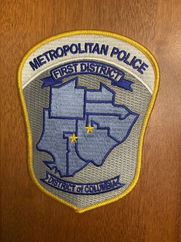 MPD DC Police First District Novelty Patch