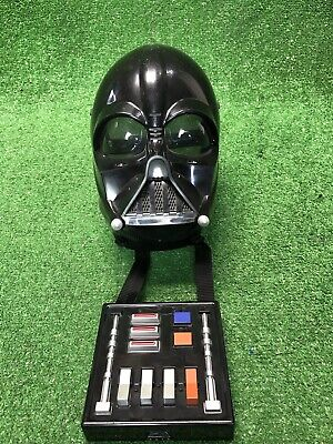 Star Wars Darth Vader Helmet and Mask with working Talking Voice Changer Hasbro - Mask With Voice Changer