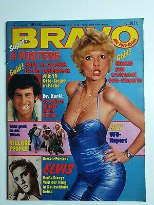 Bravo 7 vom 8.2.1979 Komplett! Elvis Presley / Village People Riesenposter (51) - 2 Riesen Poster
