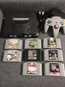 Nintendo 64 Console & Games
