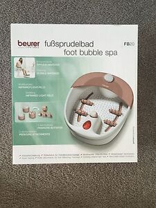 BRAND NEW BEURER THERAPY FOOT BUBBLE SPA BATH Sorell Sorell Area Preview