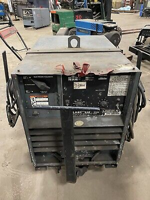 Lincoln Idealarc R3r-300 Arc Welder 3 Phase