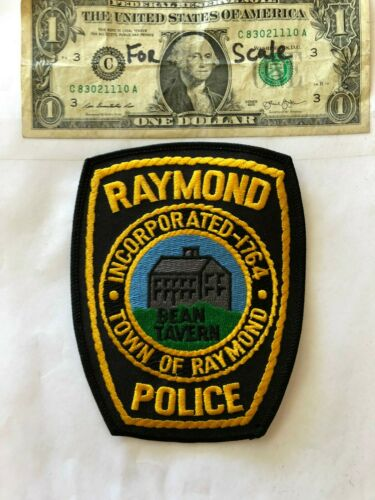 Raymond New Hampshire Police Patch (Bean Tavern) un-sewn in mint shape