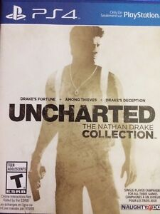 Enchanted 1,2,and 3 the Nathan drake collection
