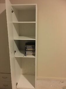 Cupboard / Cabinet: with adjustable shelving - Colour: White North Richmond Hawkesbury Area Preview