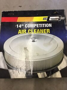 Air cleaner Chrome brand new