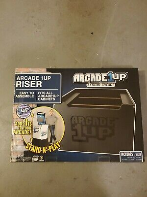 NEW Arcade 1Up Riser Only ~ At Home Arcade Video Game Machine Cabinet
