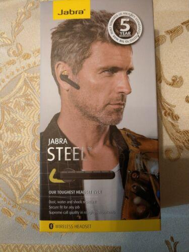 Jabra Steel Ruggedized Bluetooth Headset Retail Packaging -