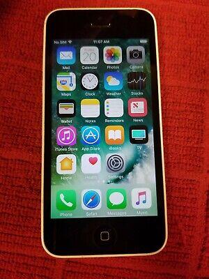 Apple iPhone 5c - 8GB - White (Verizon) A1532 (CDMA + GSM)