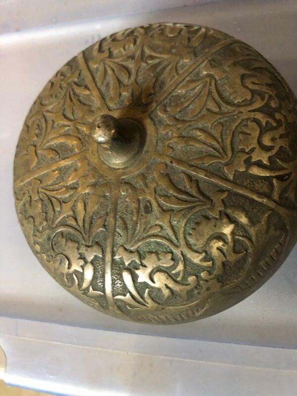 Ea 13 Antique Victorian Eastlake Brass Doorbell Body
