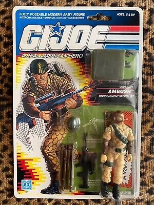 Ambush GI Joe 1989 action figure MOC  Ambush Concealment Specialist  3 3/4""