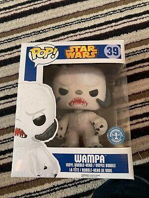 Pop Vinyl Star Wars Wampa Flocked Underground Toys Exclusive 39