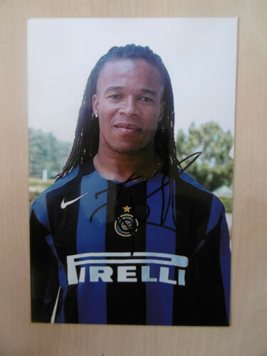 "Edgar Davids ""Inter"" Autogramm signed 10x15 cm Bild"