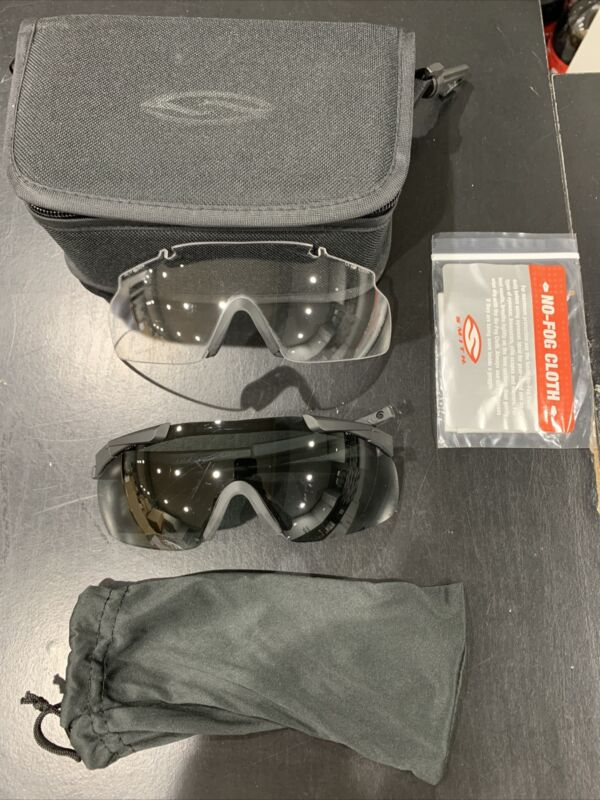 Smith Optics Elite Aegis Arc Compact Eyeshield Field Kit Black Clear