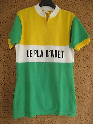 Maillot Cycliste acrylique Schuss Saint Lary Le pla d'adet Vintage - 4/L image