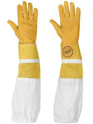 Humble Bee 115 Cowhide Beekeeping Gloves With Reinforced Vented Cuffs Small