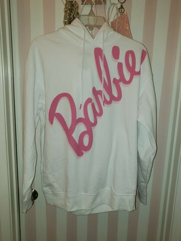 Womens Barbie Hoodie New Medium