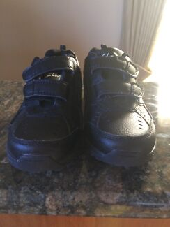 Wanted: Clarks black leather boys school shoes