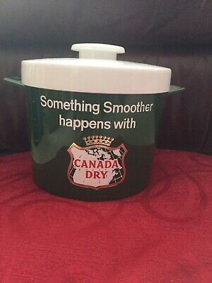 Vintage Insulex Canada Dry Ice Bucket In Superb Condition