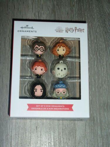 2021 Hallmark Harry Potter Wizarding World Set of 6 Mini Ornaments New