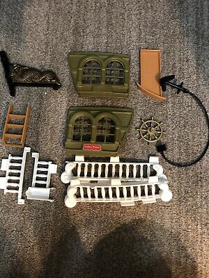 1994 Fisher Price Great Adventures Pirate Ship Replacement Pieces