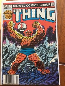 Comic The Thing 1st issue