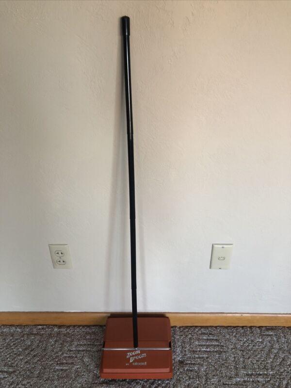 Vintage Orange Bissell Zoom Broom Carpet Sweeper - Great Condition Very clean
