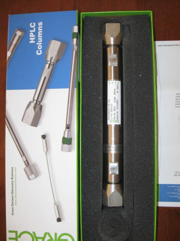 Grace HPLC Prep Column, econosphere C18, 250 mm x 22 mm