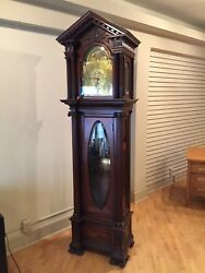Tiffany and Co Grandfather Clock 9 tubes