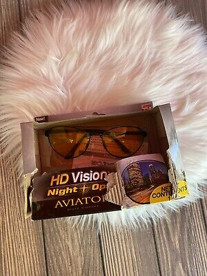 New in Box HD Vision Night Ops Aviator (As Seen On Tv Aviator Sunglasses)