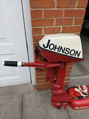 Johnson 5hp Outboard Motor