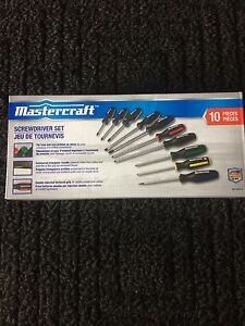 Mastercraft-Screwdriver-Set-10-pc  Mastercraft-Screwdriver-Set-