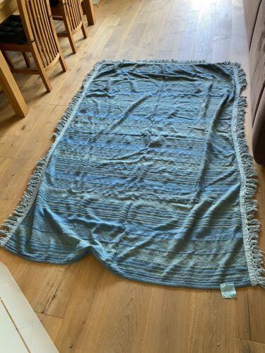 Tagesdecke Überwurf Kuscheldecke Baumwolle ca. 140/150 x 190/200 cm handgewebt
