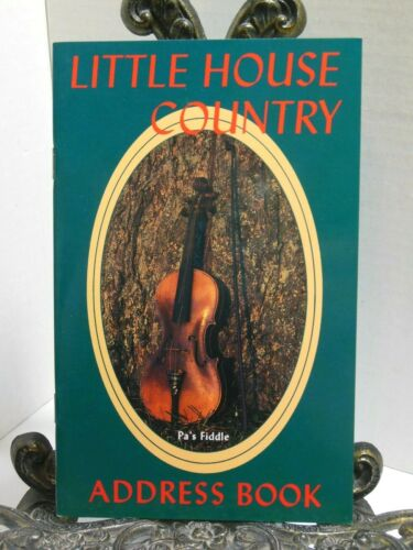 LITTLE HOUSE COUNTRY ADDRESS BOOK Laura Ingalls Wilder Tie-In Big House Prairie