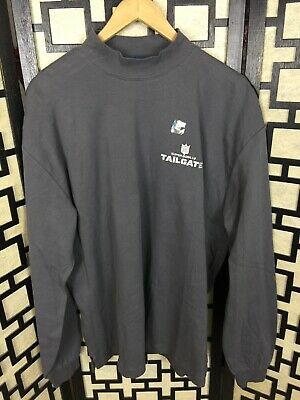 Super Bowl 52 LII Minnesota TAILGATE PARTY Long Sleeve Mock Turtleneck Shirt L (Superbowl Parties)