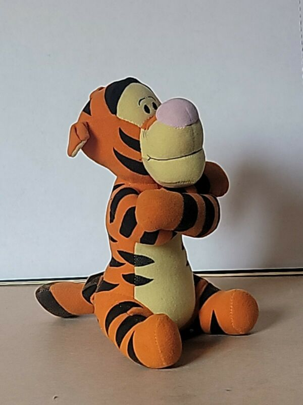 TIGGER The First Years Musical Crib Pull Plush Disney Pooh Stuffed Baby Toy