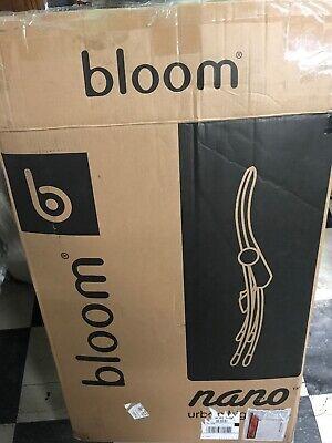 High Chair Baby Chair Nano Downtown Denin White Frame Bloom