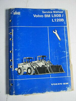 Volvo Bm Wheel Loader L90bl120b L90b Service Manual