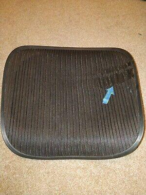 Herman Miller Aeron Chair Seat Mesh Black Pellicle Blemish Size C Large 100
