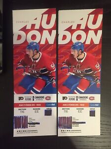 500$ PHI vs. MTL REDS 116 EE (5 rows from the ice)