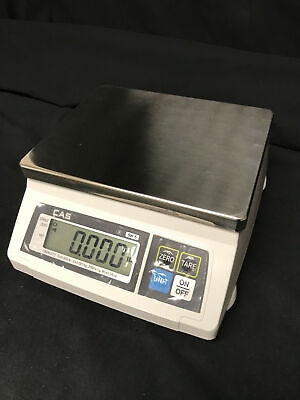 Cas Sw-15 Portion Control Scale 5 Lb X 0.002 Lb Ntep Open Box