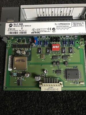 1746-no4i Ab Slc500 Analog Output Module Tested And Guaranteed