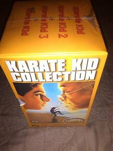 THE KARATE KID COLLECTION VIDEO TAPES-MOVIES Dulwich Hill Marrickville Area Preview