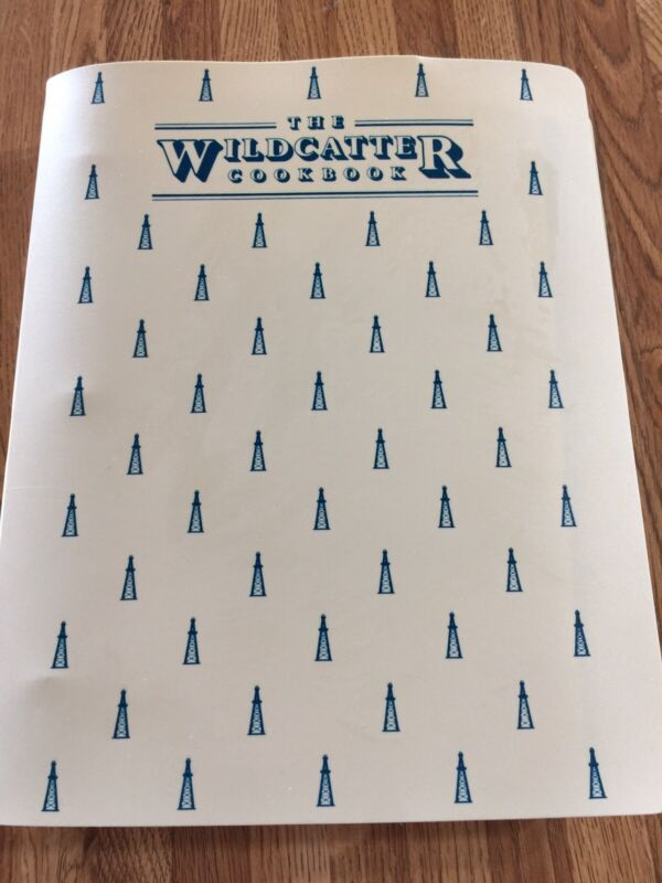 VINTAGE HUNT OIL COMPANY THE WILDCATTER COOKBOOK DERRICK OIL FIELD GAS DRILLING